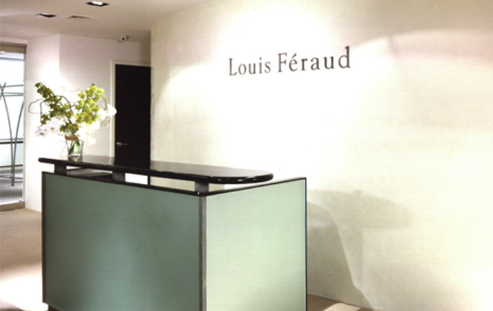 Louis Feraud Showroom Shopping Centre